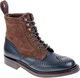 Joseph Cheaney Amelia Full Wingcap Brogue Boots