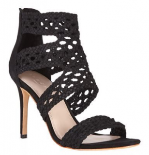 Sandro Agate Braided Suede Sandals