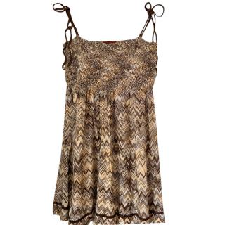Missoni Beige Knit Top