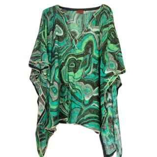 Missoni Mare Green Knit Kaftan