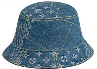 Louis Vuitton x Nigo reversible denim bucket hat