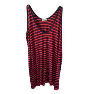 Balenciaga Red Striped Vest