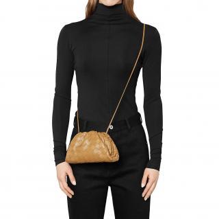 Bottega Veneta Caramel The Mini Pouch Crossbody Bag