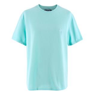 Vilebrequin Turquoise Cotton T-shirt