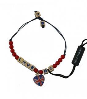 Dolce & Gabbana Beaded String Bracelet
