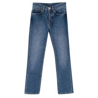 Raey Denim Straight Leg Jeans