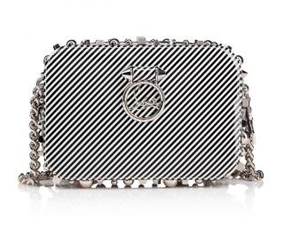 Christian Louboutin Rubylou Mini Patent Stripes Bag