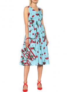 Dolce & Gabbana My Theresa Exclusive Sleevless Mikado Midi Dress