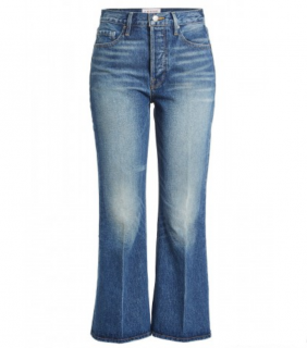 Frame Denim Rigid Re-Release Le Crop Flared Jeans