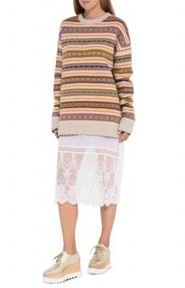 Stella McCartney virgin wool fair isle knit jumper