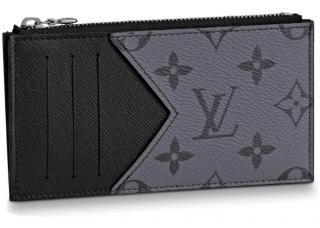 Louis Vuitton Eclipse Reverse Card & Coin Holder