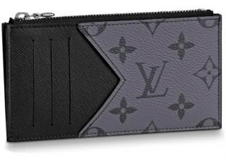 Louis Vuitton Eclipse Reverse Card & Coin Holder