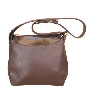 Loewe Dark Brown Leather Tote Bag