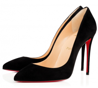 Christian Louboutin Pigalle Follies 100 in Suede