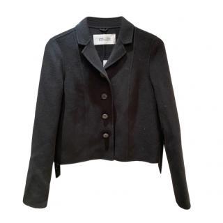 Diane Von Furstenberg Black Short Jacket