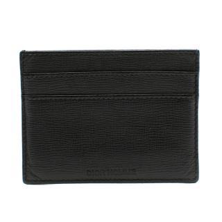 Dior Homme Black Saffiano Leather Cardholder