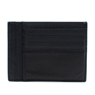 Dior Homme Navy Leather Card Holder