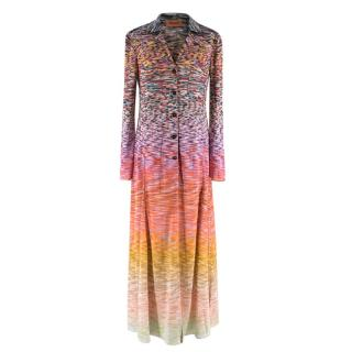 Missoni Multicoloured Knit Longline Cardigan