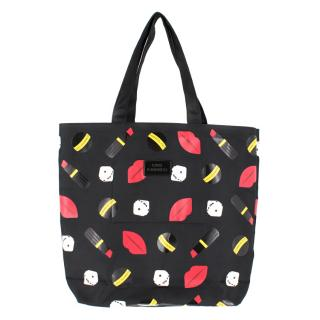 Lulu Guinness Lily All Over Charms Print Tote Bag