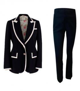 Gucci Black & White Cady Suit