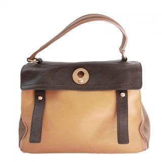 Yves Saint Laurent Tri-Colour Muse Two Bag Medium