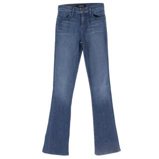 J Brand Remy Dark Blue Bootcut Jeans
