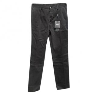 Dolce & Gabbana Black Cotton Pants