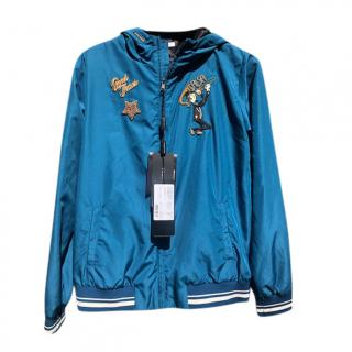 Dolce & Gabbana Blue Kid's Mambo Union Jacket