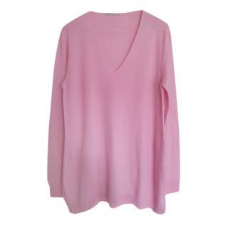 Max Mara Pink Wool Jumper