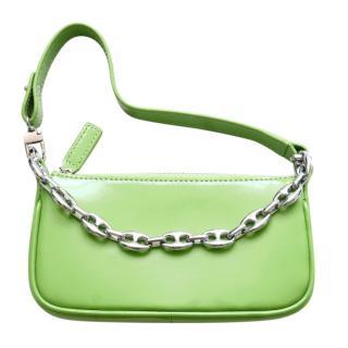 By Bar Apple Green Mini Rachel Bag