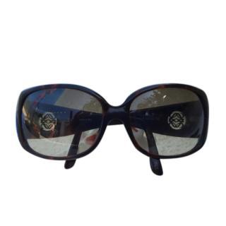 Loewe Black Oversize Sunglasses