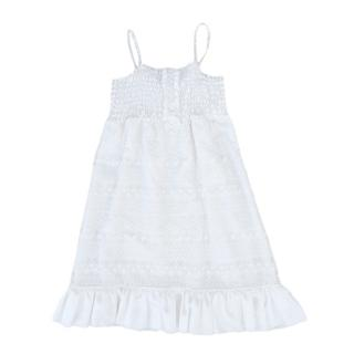 Miss Blumarine White Summer Dress