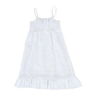 Miss Blumarine White Summer Dress