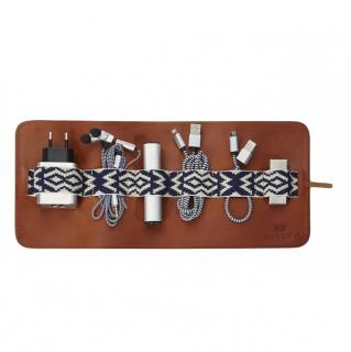 Mantidy Herringbone Woven Travel Accessories Kit