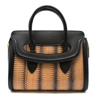 Alexander McQueen Leather & Python Heroine Bag