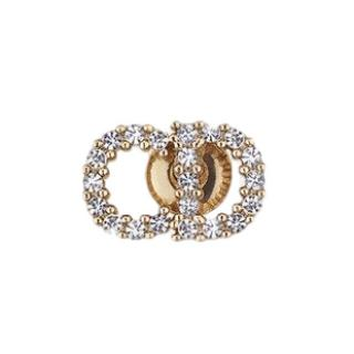 Dior Clair D Lune monogram single earring