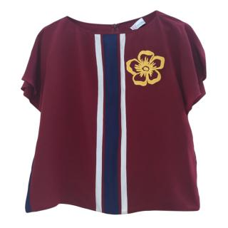 Red Valentino crew necked top