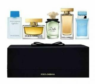 Dolce & Gabbana perfume miniatures gift set