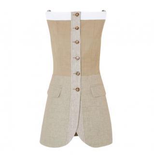 Burberry S/S 2020 Pecan Melange Wool & Cashmere Waistcoat