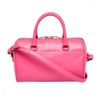 Saint Laurent Pink Classic Baby Duffle Bag