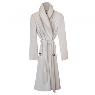 Aquascutum Wool Wrap Coat with Oversize Collar