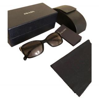 Prada Black SPR020 Classic Sunglasses
