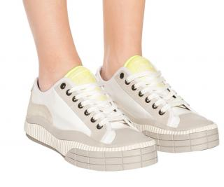 Chloe Clint Suede Trim Sneakers