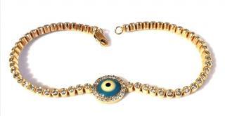 Bespoke 2.5ct diamond All Seeing bracelet