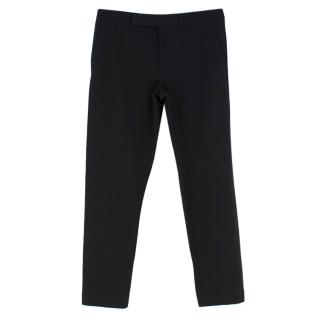 Ralph Lauren Black Straight Leg Work Trousers