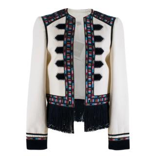 Talitha Tassel Embroidered Jacket