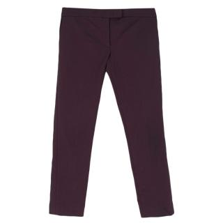 Joseph Purple Tailored Trousers