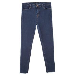 J Brand Skinny Disguise Dark Blue Jeans