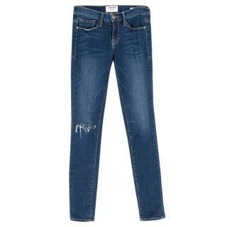 Frame Denim Le Skinny de Jeanne Blue Jeans