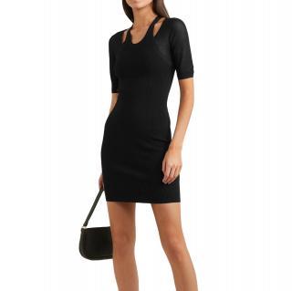 Alexander Wang Black 2020 hybrid cutout dress